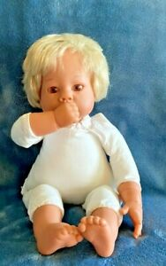 """LEE MIDDLETON BY REVA SCHICK THUMB SUCKER 12"""" BABY DOLL NUMBERED W TAG"""