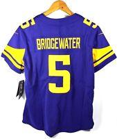 Nike Minnesota Vikings Teddy Bridgwater 5 Jersey NFL Sz Medium Brand New W/ Tags