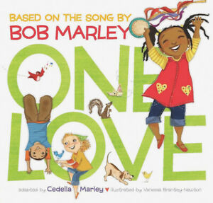 One Love (Music Books for Children, African American Baby Books, Bob Marley...
