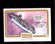 2016 Star Wars Empire Strikes Back Micro Comic Insert Card #16 Millenium Falcon