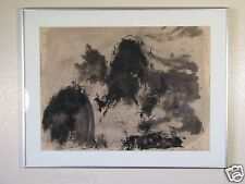 Kenneth Callahan Ink Drawing Japanese Style  Pacific Northwest Art