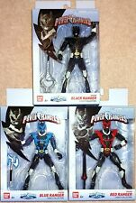 Lot of 3 Bandai Legacy Power Rangers in Space Psycho Ranger figures MISB