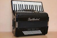 Royal Standard (Weltmeister) Meteor 80 Bass LMM Accordion Fisarmonica Black