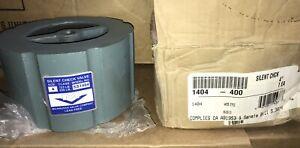 "Milwaukee Valve 1404 Silent Check Valve, 4"" in, 125/250 lb, Cast Iron Body"