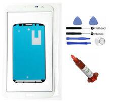 White glass lens screen replacement LCD Digitizer Repair Galaxy Mega 6.3 i9200