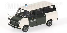"1/43 FORD TRANSIT BUS 1971 ""POLIZEI HAMBURG"" MINICHAMPS"