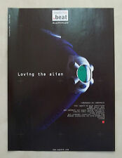 B014-Advertising Pubblicità-1999 - SWATCH BEAT - OROLOGI