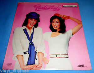 PHILIPPINES:PINK LADY - Pink Lady LP,rare,70's Japanese,J-Pop,Kiss In The Dark