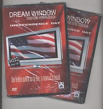 NUEVO LOTE DE 2 DVD DREAM VISILLOS TRANSFORMA SU TV EN LA INDEPENDENCIA DAY