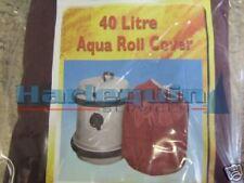 CARAVAN/MOTORHOME/CAMPING 40L AQUAROLL COVER BURGUNDY
