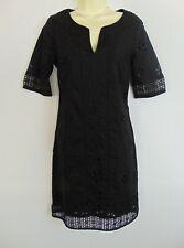 Monsoon Cotton Broderie Anglais Shift Dress 10 NWT