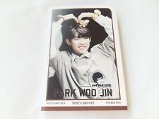 PARK WOO JIN WooJin WANNA ONE WannaOne Produce 101 Post Card Set Sticker KPOP