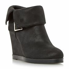Standard Width (B) Wedge Slip On Synthetic Boots for Women