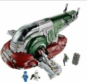 Star Wars Building Blocks Set 05037 Slave I Ucs Star Destroyer DHL Fast Shipping