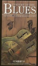 CENTURY of the BLUES The Definitive Country Coll  4 CD's : 100 titres (COFFRET)