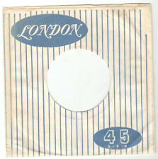 LONDON RECORDS RECORD SLEEVE FROM NEW ZEALAND FOR 45 RPM 7 INCH RECORDS