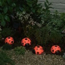 Ladybug Solar Light Set - Set of 4
