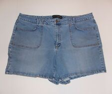 Venezia Jean Shorts Stretch Denim Ladies Size 24 Waist 22""