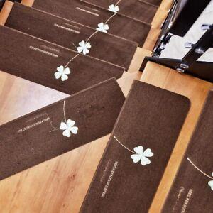 Stair Step Mat Carpet Floor Anti-slip Silent Luminous Glue Free Autohesion