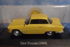 DKW Fissore 1964   Diecast Autos Inolvidables scale  1:43  Argentina