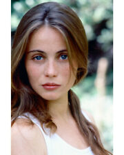 EMMANUELLE BEART COLOR 8X10 PHOTO LOVELY CLOSE UP
