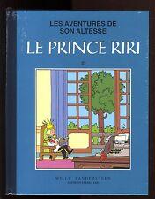 PRINCE RIRI (Son Altesse RIRI) n°2  Willy VANDERSTEEN   Ed. STANDAARD 1995  Neuf