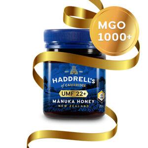 Haddrell's Manuka Honig MGO 1000+ (UMF 22+) 250g - Limited Edition Geschenkbox