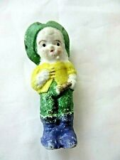 Vintage Bisque Little Boy Figurine, Japan