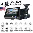 1080P Car DVR Dual Lens Dash Cam Front and Rear Video Recorder Camera G-sensor