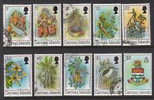 CAYMAN ISLANDS 1980 DEFINITIVE SET TO $2 FINE USED