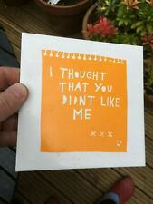 """Rob Ryan : ceramic tile : """"I thought that you didn't like me"""""""