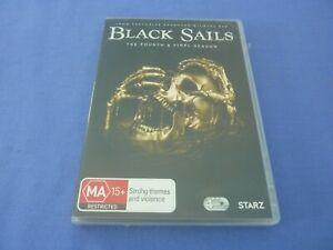 Black Sails DVD Fourth & Final Season 4 Region 4