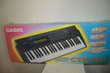 CLAVIER ELECTRONIQUE SYNTHETISEUR CASIO CTK 50 PIANO KETBOARD ELECTRONIC