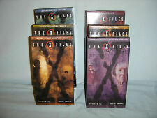 X-Files Season 2 Vhs Tapes - lot of 6 - Duchovny, Anderson