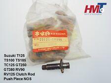 Suzuki T125 TS100 TS185 TC125 GT250 GT380 RV90 RV125 Clutch Rod Push Piece NOS