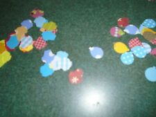 200 Stampin Up Balloons & Cupcakes Paper Die Cut Punches Confetti Party Birthday