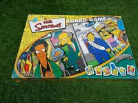 The Simpsons Board Game winning moves  Vintage 2000