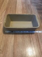 New listing Pampered Chef Stoneware Loaf Bread Pan Family Heritage Collection Usa