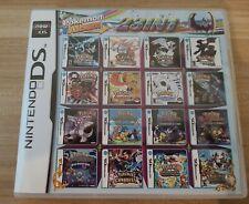 23 in 1 Nintendo DS Multigame Cartridge (Pokemon Platinum, Black, White 2, more)