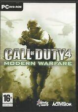 Call Of Duty 4 - Modern Warfare (engl/multil.) (PC, 2007, DVD-Box) Mit Steam Key