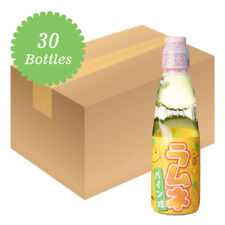 Hatakosen Ramune Soda - Pineapple Flavour 200ml (30 Bottles)