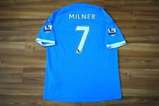 MANCHESTER CITY HOME FOOTBALL SHIRT 2010-2011 JERSEY #7 MILNER UMBRO 52 LARGE