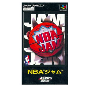 NBA JAM:NINTENDO SUPER FAMICOM SFC SNES JAPAN