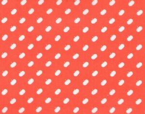 Vintage Orange Gift Wrap Wrapping Paper Tiny Polka Dot Pumpkins Halloween