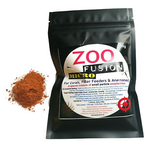 ZOO FUSION MICRO™  Plankton Substitute Zooplankton Filter Feeder CORAL FOOD