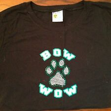 Bow Wow official tour merch. Ladies short sleeve babydoll size Lg, never worn