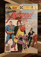 SUPERMAN'S ACTION COMICS No.460 BRONZE AGE JUNE 1976 30c DC COMIC * MR MXYZPTLK