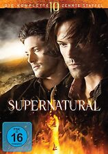 Supernatural - Staffel 10 [6 DVDs] Jared Padalecki Neu!
