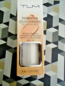 TLM COLOUR CHANGING AND ADJUSTING NAKED FOUNDATION==