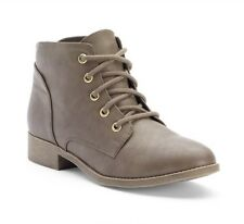Candie's® Women's Lace-Up Ankle Boots Size 9